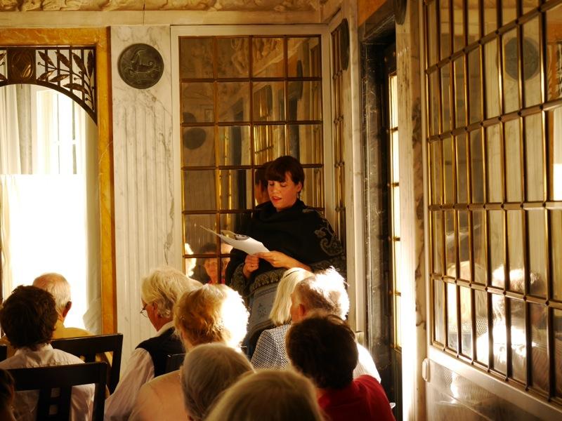 Angelika Krautzberger alias Lola Montez begeisterte das Publikum.