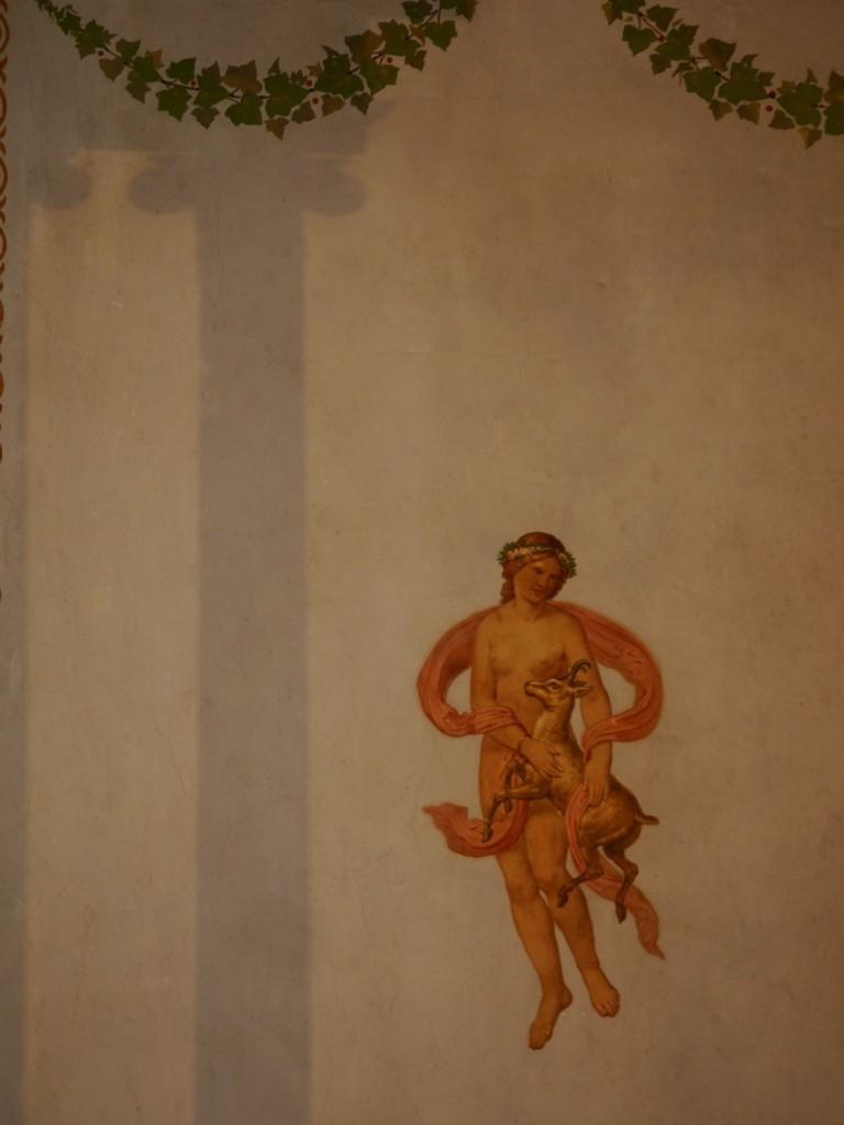 Fresken nach pompejanischem Vorbild