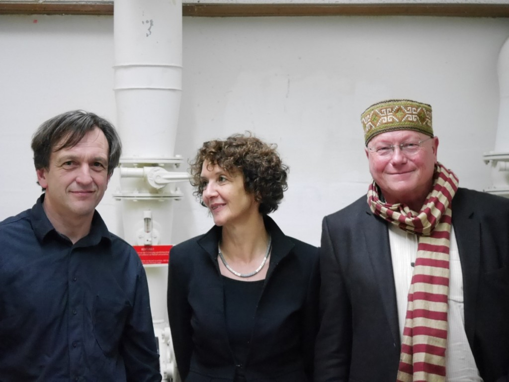 Peter Weiß, Elisabeth Carr und Gerd Holzheimer