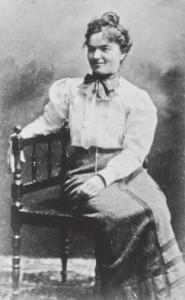 Maria Bernoulli, etwa 1903 Aufnahme T. Bernoulli, Privatbesitz Hesse-Haus, Gaienhofen